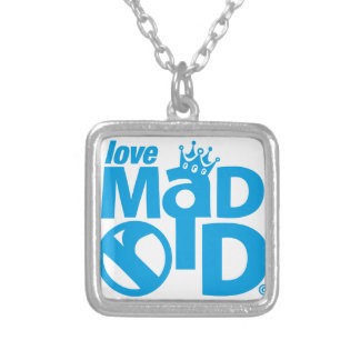 Collar Plateado I Love Madrid Crown & Sign ED.