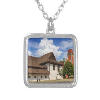 Collar Plateado Iglesia articular de madera en Kezmarok,