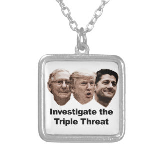 Collar Plateado Investigue la amenaza triple