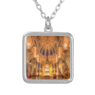Collar Plateado La catedral Manhattan Nueva York de St Patrick
