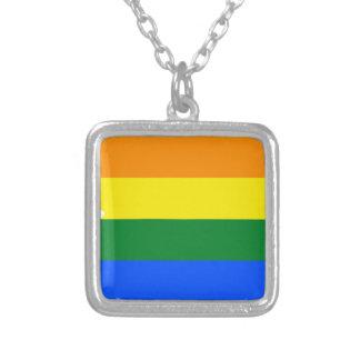 Collar Plateado Mapa de la bandera de Arizona LGBT