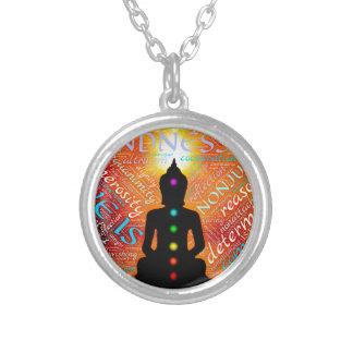 Collar Plateado Meditación