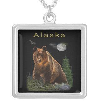 Collar Plateado Mercancía del estado de Alaska