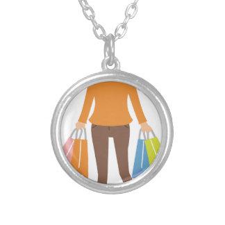 Collar Plateado Mujer de las compras