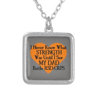 Collar Plateado Nunca sabía qué papá… RSD/CRPS de la fuerza…