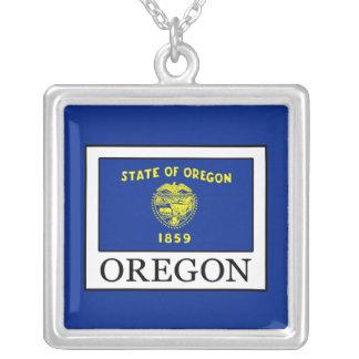 Collar Plateado Oregon