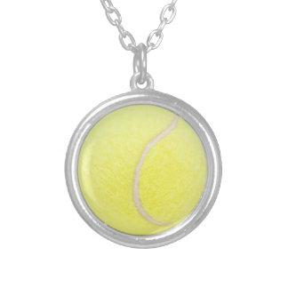 Collar Plateado Pelota de tenis