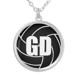 Collar Plateado Posición de los jugadores del Netball, defensa GD