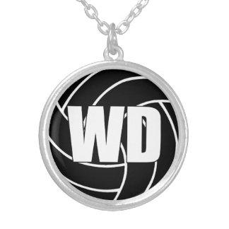 Collar Plateado Posición de los jugadores del Netball, defensa WD