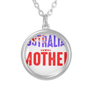 Collar Plateado Retroceda el uso no asustado australiano loco de