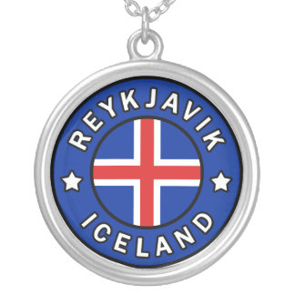 Collar Plateado Reykjavik Islandia