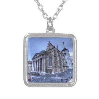 Collar Plateado Saint Pierre de la catedral, Peter, Ginebra, Suiza