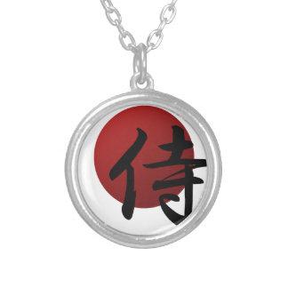 Collar Plateado Samurai Sun