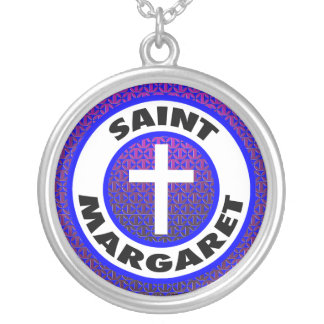 Collar Plateado Santa Margarita