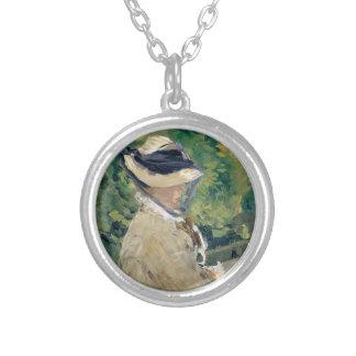 Collar Plateado Señora Manet (Susana Leenhoff, 1830-1906)