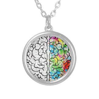 Collar Plateado serie del cerebro