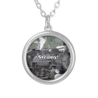 Collar Plateado Tórrido!: motor del tren del vapor, Colorado, los