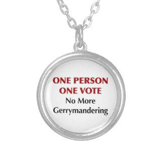 Collar Plateado Un voto de la persona una, Gerrymandering