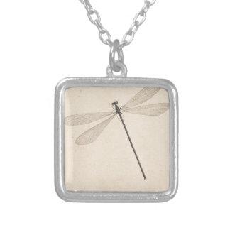 Collar Plateado Una libélula, por Nicolás Struyk, temprano décimo
