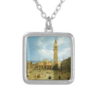 Collar Plateado Venecia 1720