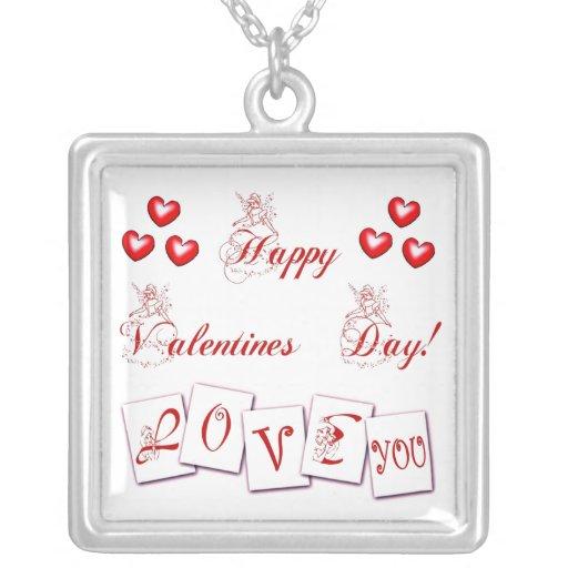 Collar precioso del el día de San Valentín