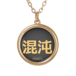 Collar primitivo del caos (letras del oro)