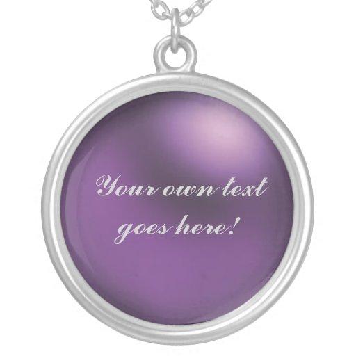 Collar púrpura de encargo del placer - Violette Ke