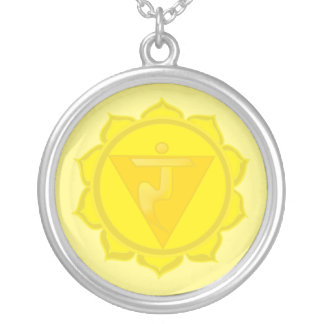 Collar redondo del plexo solar de Chakra Manipura