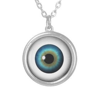 Collar redondo fresco del globo del ojo del iris