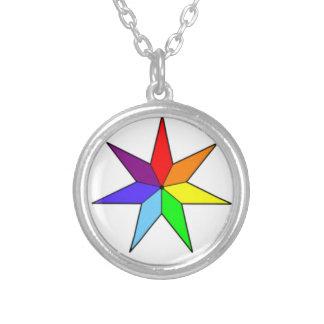 Collar Siete-Acentuado de la estrella del arco