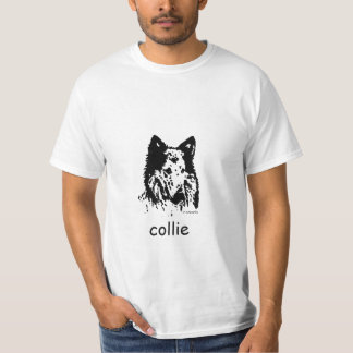 Collie de la camiseta