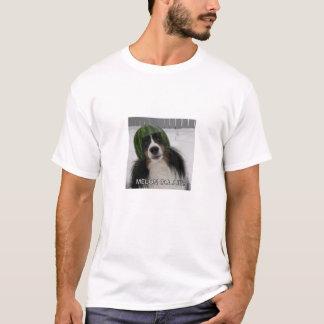 Collie del melón camiseta