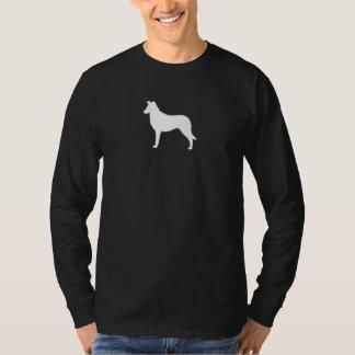Collie (liso) camiseta