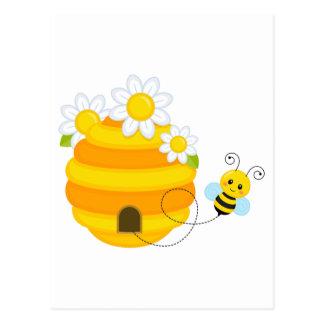 Colmena de la abeja postal