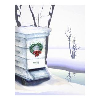 colmena de Navidad Folleto 21,6 X 28 Cm