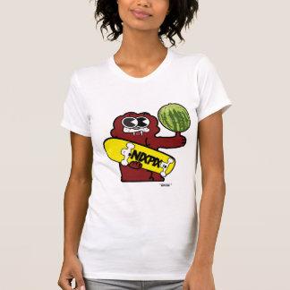 Colmillo con el logotipo de la sandía y del camisetas