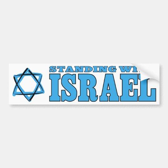 Colocación con Israel Pegatina Para Coche