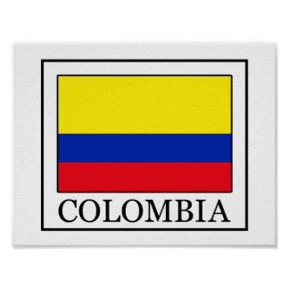 Colombia Póster