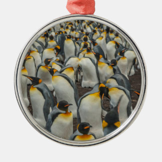 Colonia del pingüino de rey, Malvinas Adorno De Cerámica