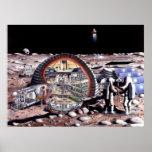 Colonización del poster de la luna