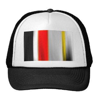 color abstracto del diseño del arte de la diversió gorra