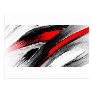 color abstracto del diseño del arte de la diversió postal