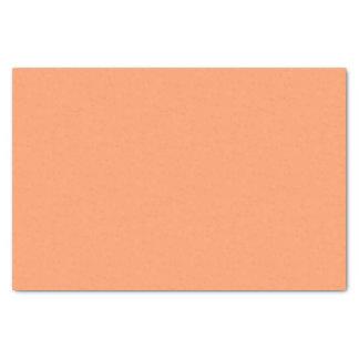Color anaranjado suavemente tranquilo papel de seda