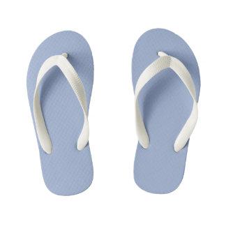 Color azul reservado fresco chanclas para niños