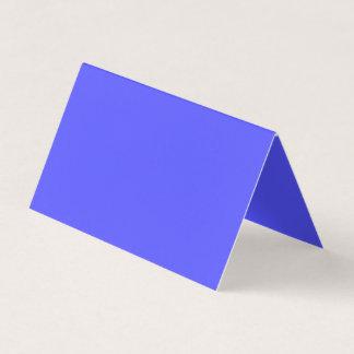 Color azul sinceramente inspirador tarjeta de visita