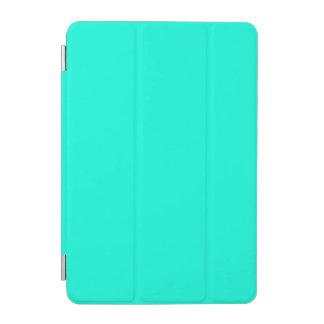 Color brillante de la turquesa cubierta de iPad mini