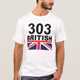 Color de 303 Británicos Camiseta