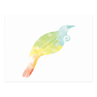 Color de agua del arco iris Tui Postales