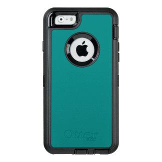 Color de buen gusto sofisticado del trullo funda OtterBox defender para iPhone 6