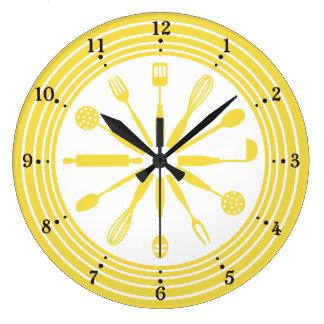 color de encargo que cocina el reloj de la cocina